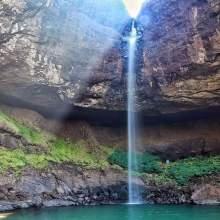 Devkund the virgin waterfall