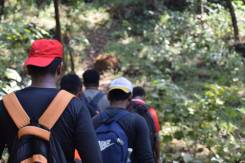 Royal Sahyadri trekkers ready for the Devkund trek