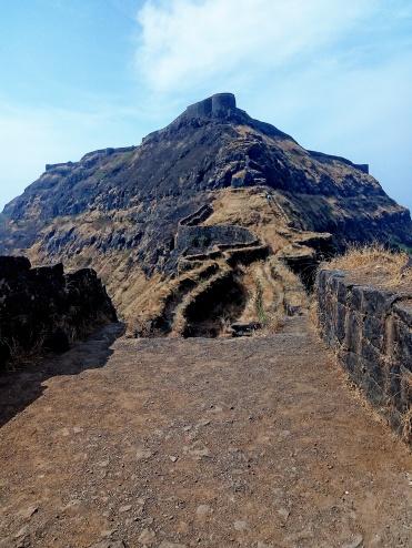 Torna fort view from Zunjar machi