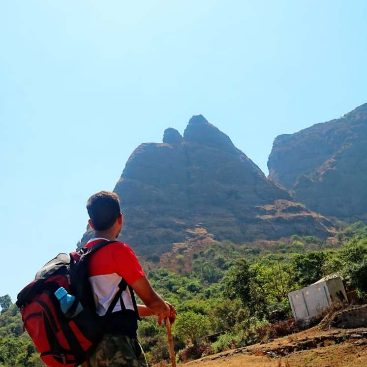 Exploring kalavantin peak from Prabal Machi